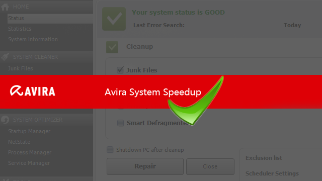 Avira System SpeedUP 1.6.12.1445 License Number Crack