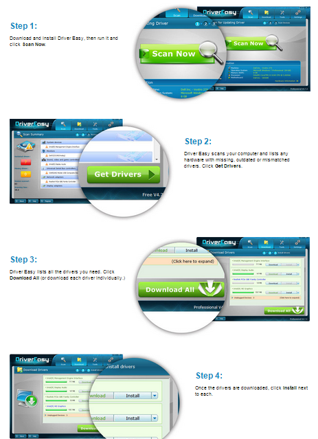 DriverEasy Professional 4.x.x Crack Patch Free Download
