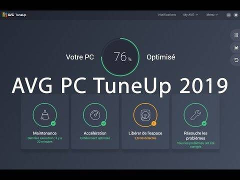 AVG PC TuneUP 2019 Product Key Generator Full Download