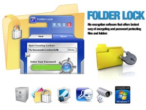 New Software's Folder Lock 7.8.0 Setup and Registration Method