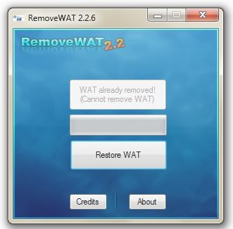 RemoveWAT 2.2.6 Windows 10 Activator