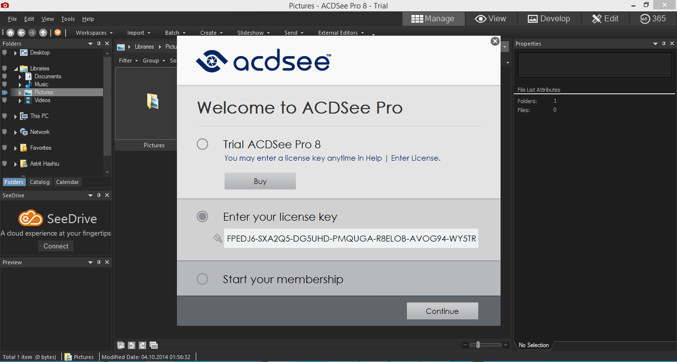 Acdsee pro 8 free download [with license key] youtube.