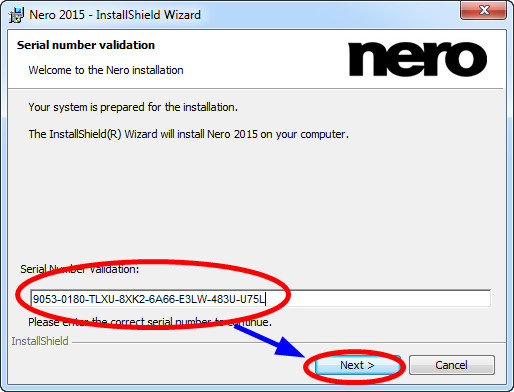 nero 6 serial number free download