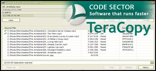 TeraCopy Pro 3.4 Alpha Serial Keys Free License