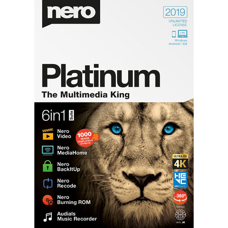 Nero 2020 Platinum Keygen Free Download