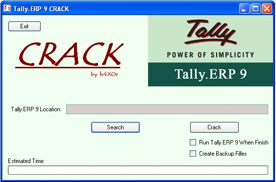 Tally.ERP 9 Crack License Serial Number and Activation Code Free Download