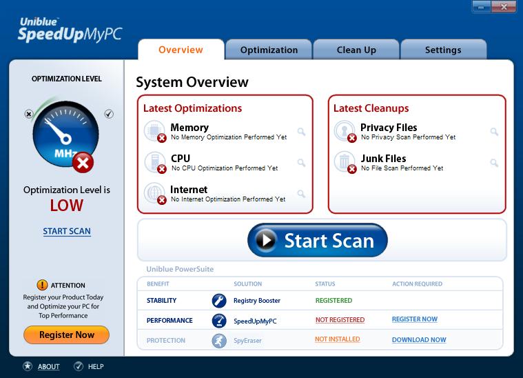 Uniblue SpeedUpMyPC 2015 Serial Keys Free Download