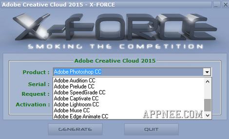 Adobe CC 2015 Keygen for Windows and MAC