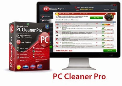 PC Cleaner Pro 2018 License Keys and Setup Free Download